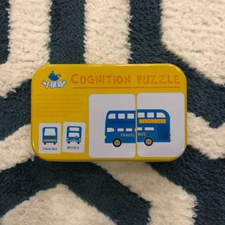 Cognition Puzzle in Mandarin & English for kids