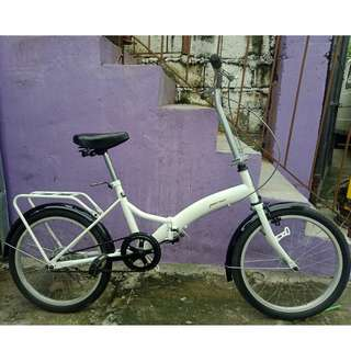 GREATWALL FOLDING BIKE (FREE DELIVERY AND NEGOTIABLE!)
