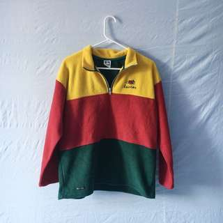colourblock halfzip