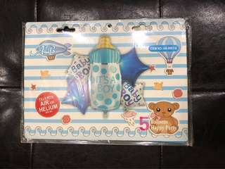 It's A Boy - Party Foil Balloons (5in1)