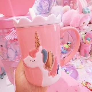 Pink Unicorn Ceramic Mug