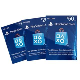 Playstation Network Card (USD 50) (PSN)