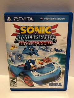 Sonic and All-Stars Racing Transformed for Sony PSV
