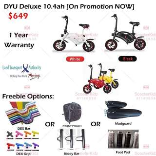 Hari Raya DYU Deluxe 10.4ah Promotion with Freebie NOW