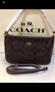 Original coach women sling bag crossbody handbag