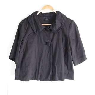 US Black Crop Jacket