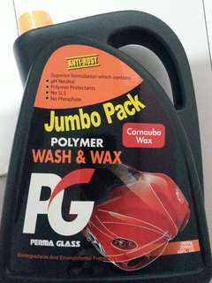 Best in town!  PG polymer wash & waXX (2L) with anti-rust