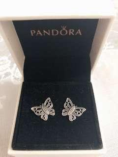 100% New Pandora Earring-Vintage Butterfly 🦋