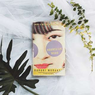 Norwegian Wood by Haruki Murakami (Free Shipping Nationwide)