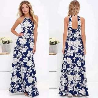 🐋Cutout Back Maxi dress