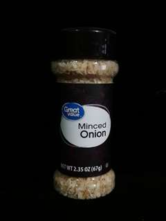 Minced onion seasoning
