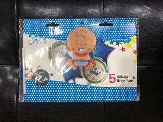 A New Little Prince - Party Foil Balloons (5in1)