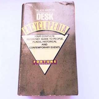 [Vintage] The American Desk Encyclopaedia.