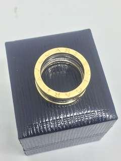 Bvlgari Ring-750/2 tone