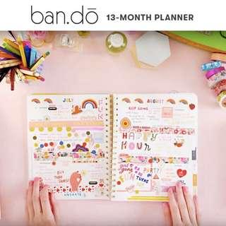 2018 BANDO PLANNER / AGENDA