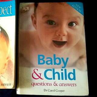 Pregnancy &  baby care nutrition books for expecting mum and newborn babies