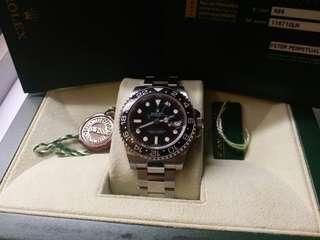 (Sold)勞力士Rolex 116710LN GMT II V頭888stick  dial