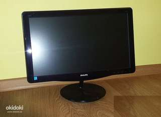 "Philips 197E3LSU (18.5"" 16:9 LED Monitor w/DVI)"