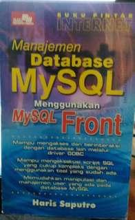 Buku : Manajemen Database MySQL Menggunakan MySQL Front