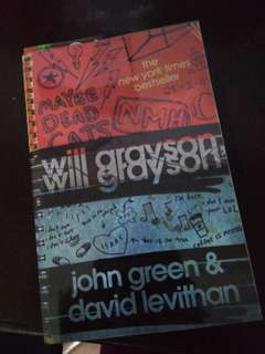 Will Greyson, Will Greyson by John Green and David Levithan