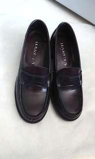 日本HARUTA真皮學生鞋