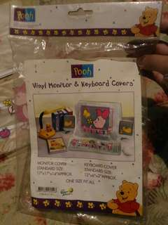 Pooh monitor & keyboard coverz