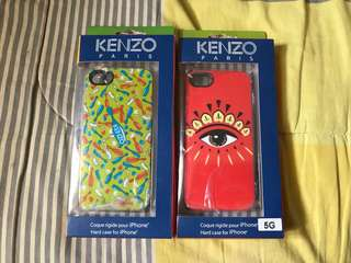 Case Casing Softcase iPhone 5 5s Kenzo Soft Jelly