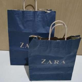 Zara paperbag big & medium