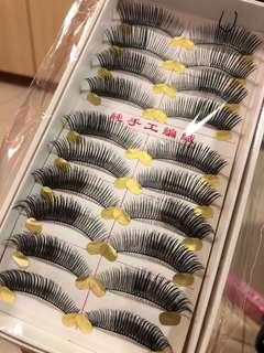 Fake eyelashes (20 sets)