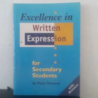 Buku Excellence in Written Expression For Secondary Students