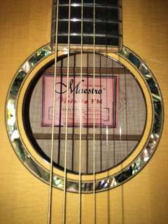 Maestro acoustic guitar custom series Victoria FM