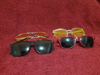 Sunglasses bundle!