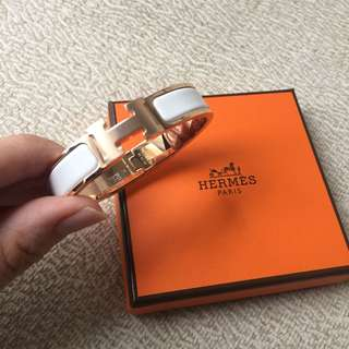 ❗️NEW❗️AUTHENTIC HERMES Clic Clac H Bracelet - PM