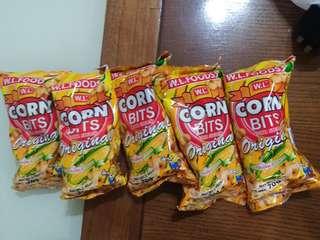 Tasty & New CORN BITS Super Garlic and flavor (Original)
