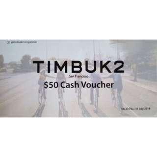 Timbuk2 $50 Voucher