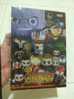 Avengers Infinity War Cosbaby A5 folder
