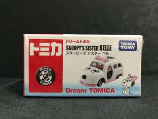 Tomica Dream - Snoopy's Sister Belle