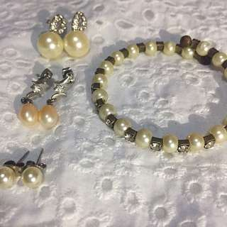 (ALL) FRESHWATER PEARL SET