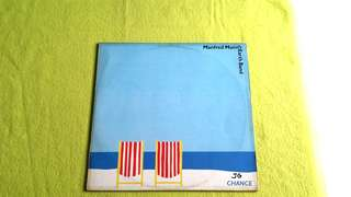 MANFRED MANN EARTH BAND.  chance . Vinyl record