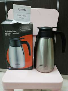 Thermocafe stainless Steel vacuum insulated carafe