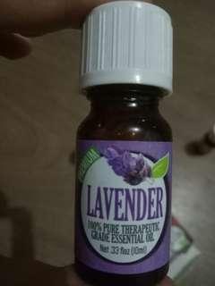 Healing solution lavender essentials oil