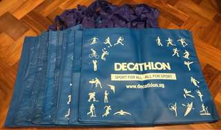 Large bags - from Declathon, winter time etc