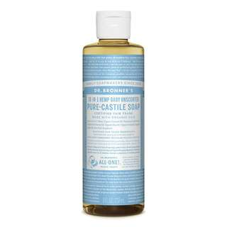 Dr. Bronner's Unscented Castile Soap (237ml)