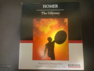 Homer The Odyssey Audio Book unabridged cd
