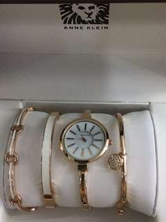 ANNE KLEIN SET WATCH