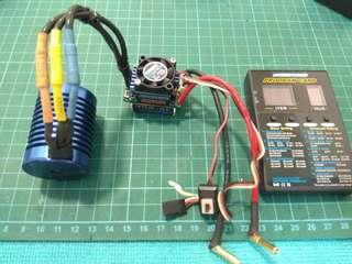 Hobbywing ezrun brushless combo esc+motor