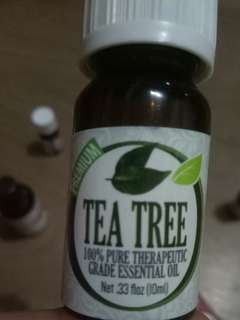 Healing solutions tea tree essentials oil