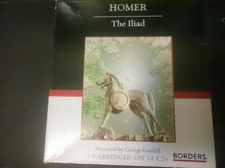 Homer The Iliad Audio Book Unabridged CD