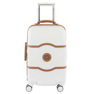 """Delsey Chatelet Hard+ 21"""" Carry- on Spinner Suiter Trolley"""