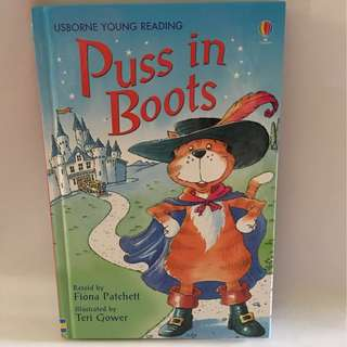Puss In Boots Story Book